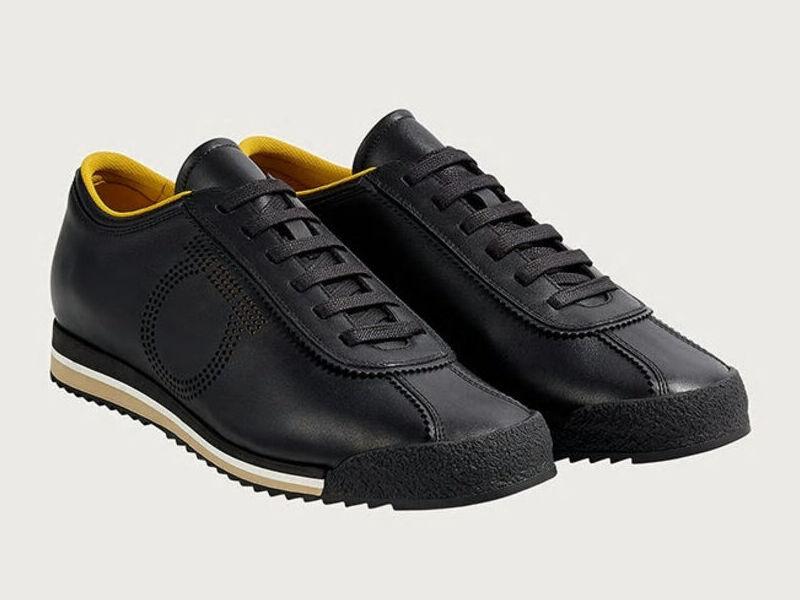 Sneakers Gancini --- Negro