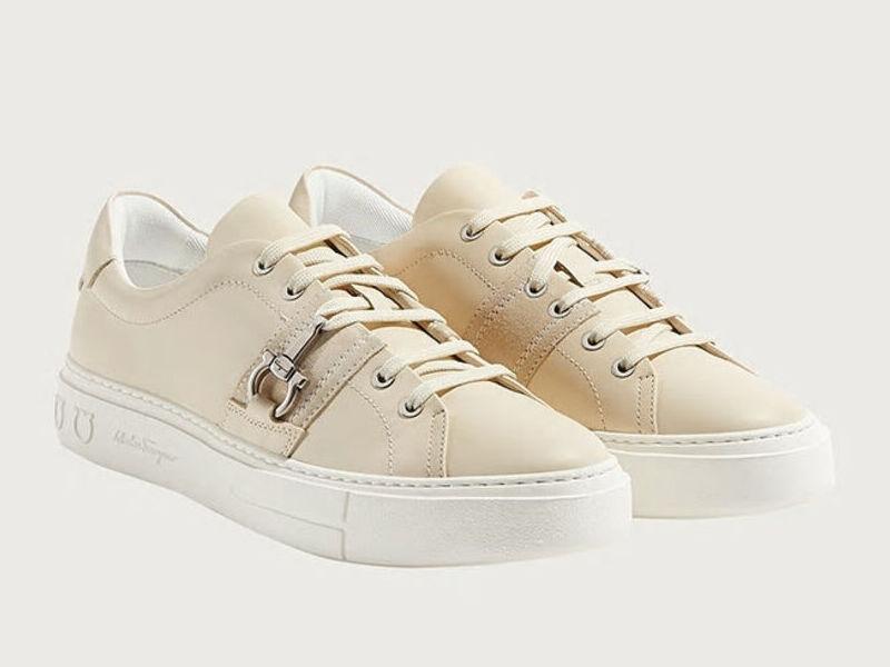 Sneakers Gancini - Blanco